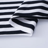 Yarn Dyed Striped French Terry Knit Fabric for Hoodie Sweatshirt